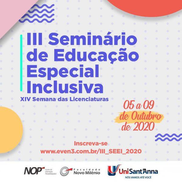 iii seminario da educacao